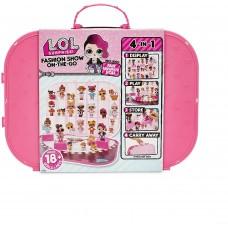 L.O.L. Sürpriz! Moda Şovu Taşınabilir Kutusunda / Playset Bebek Dahil - Sıcak Pembe, Çok Renkli